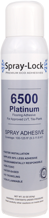 Spray Lock Luxury Vinyl Tile Platinum Spray Adhesive