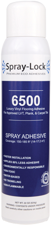 Spray Lock Luxury Vinyl Tile Spray Adhesive