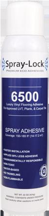 Spray Lock Luxury Vinyl Tile Spray Adhesive